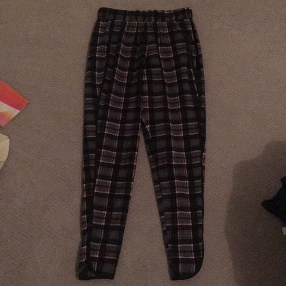 Wayf Pants - WAYF plaid pants